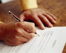 Attesting services - Ratification of Contracts